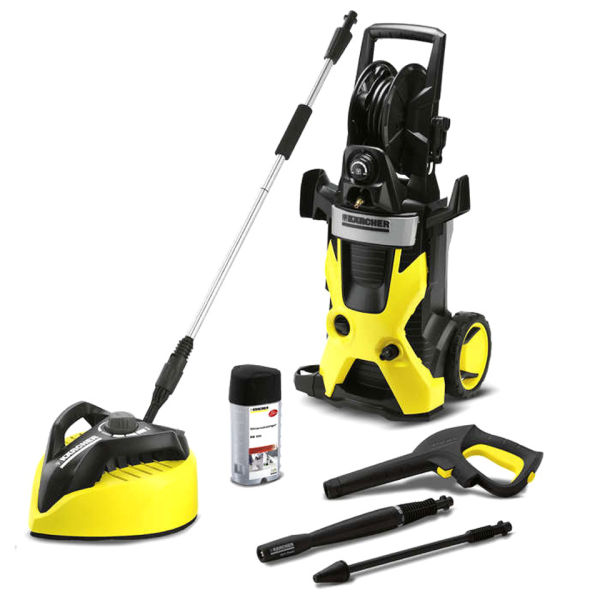 karcher k5 pressure washer with t400 patio cleaner homeware. Black Bedroom Furniture Sets. Home Design Ideas
