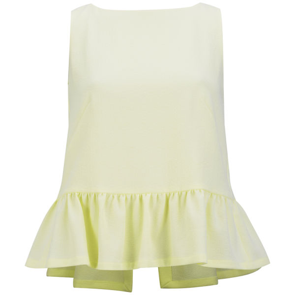 French Connection Women's Tennis Sleeve Top - Acid