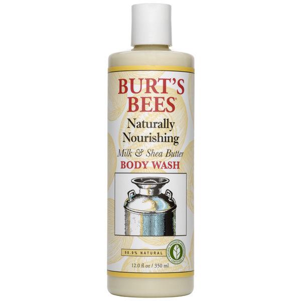 Burt's Bees Milk & Shea Butter Body Wash (350ml)