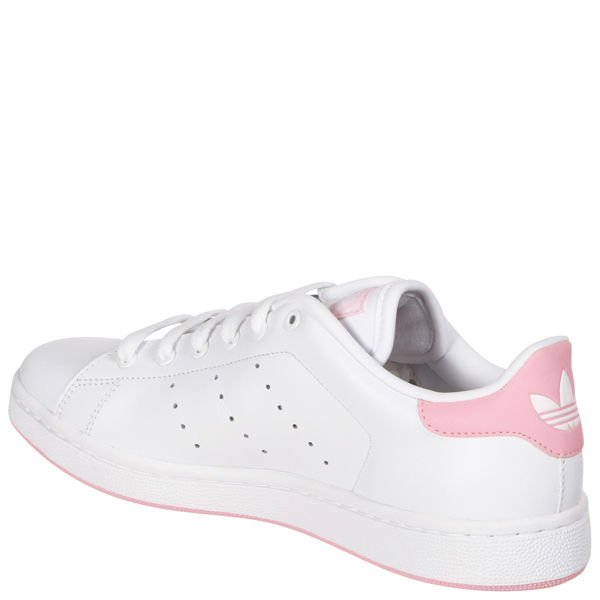 Adidas Women S Stan Smith Trainers White Pink Sports