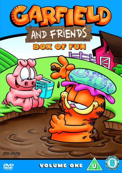 garfield and friends dvd zavvicom