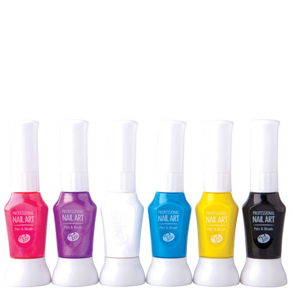 Rio Professional Nail Art Pens - Neon Collection