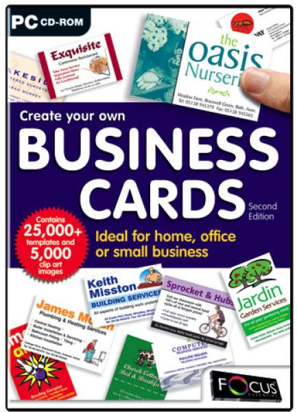 Create Your Own Business Cards Second Edition Computing