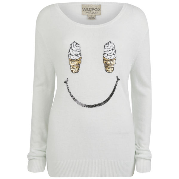 Wildfox Women's Soft Serve Sweat - Ice Cold