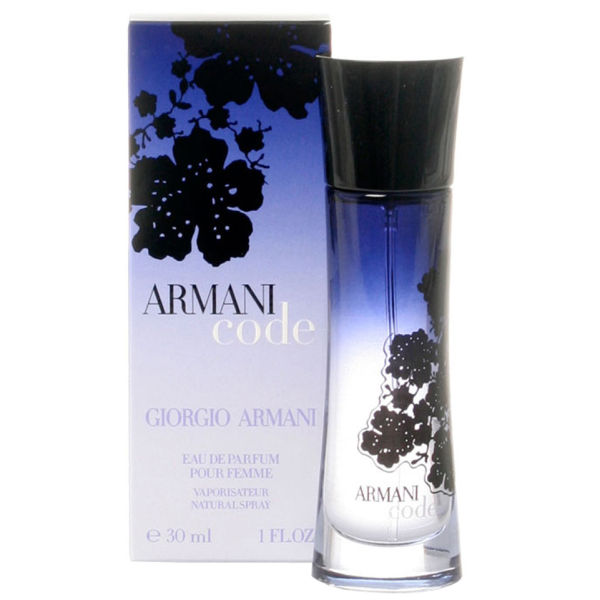 giorgio armani code for women eau de parfum 30ml. Black Bedroom Furniture Sets. Home Design Ideas