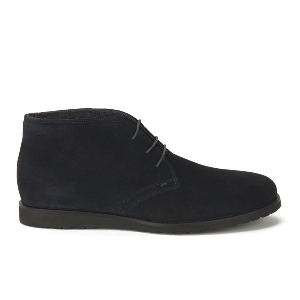 Hugo Boss Shoes Ankle High Suede