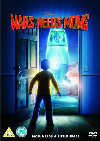 Mars Needs Moms Dvd Zavvi Com