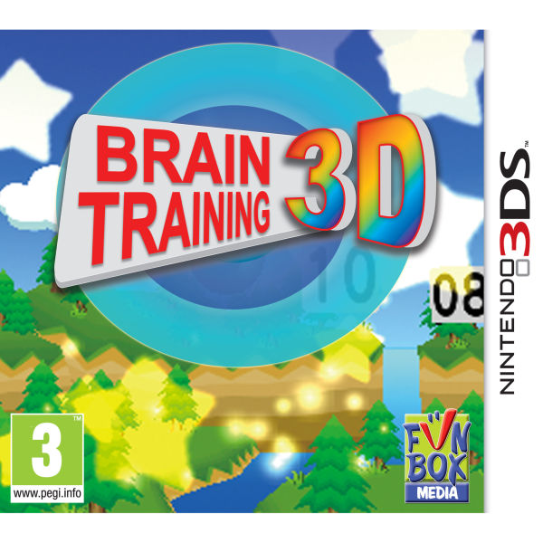 Brain Training 3D Games 3DS
