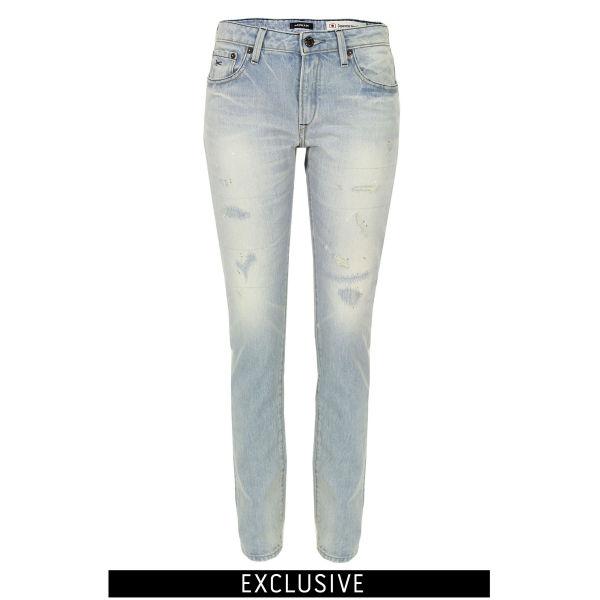 Denham Women's Elle OSS Slim Boyfriend Jeans - Light Wash