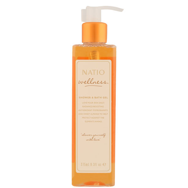 Natio Wellness Shower & Bath Gel (275ml)