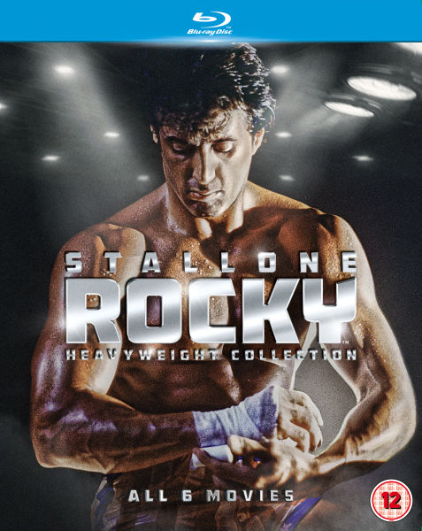 The Complete Rocky Heavyweight Collection Blu-ray