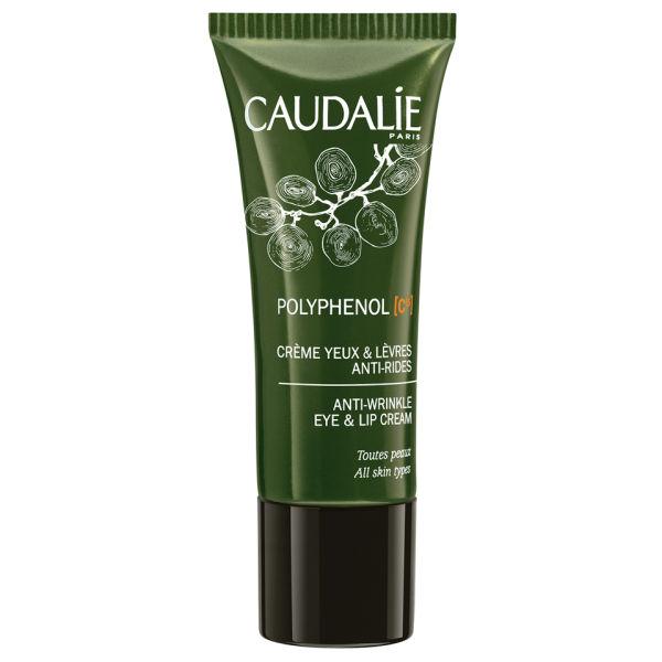 Caudalie Polyphenols C15 Anti-wrinkle Eye and Lip Cream (15ml)