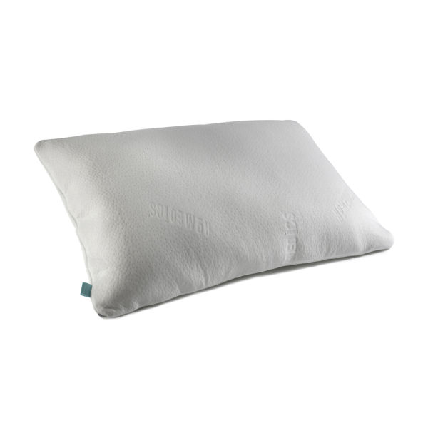 Homedics Premium Memory Foam Traditional Bed Pillow : Homedics Antibac Memory Foam Luxury Pillow - White IWOOT