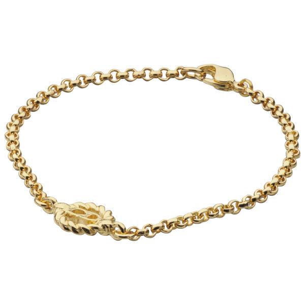 Susan Caplan Vintage Christian Dior Gold Plated Chain Bracelet