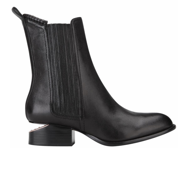 Alexander Wang Women's Anouck Chelsea Boot - Black Natural Grain