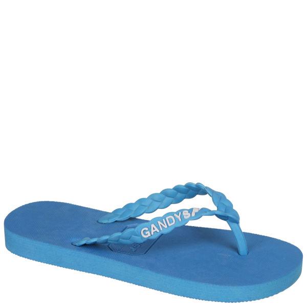 Gandys Women's Flip Flops - Brighton Blue