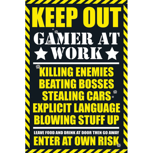 Gaming Keep Out - Maxi Poster - 61 x 91.5cm