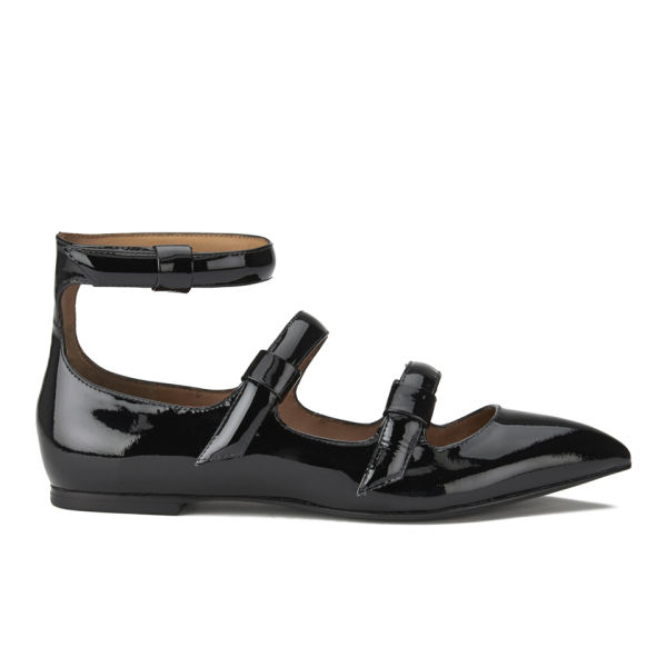 marc by marc s patent leather pointed toe