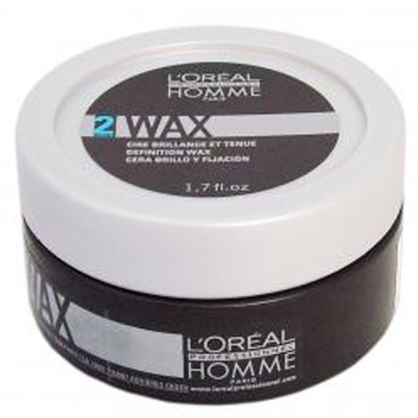 l or al professionnel homme wax   definition wax 50ml