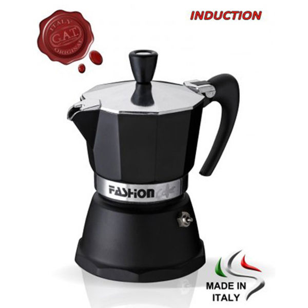 G.A.T. Fashion Induction Compatible Espresso Maker 6 Cup IWOOT