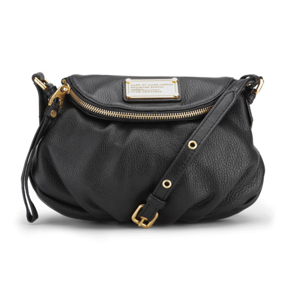 Marc by Marc Jacobs Mini Natasha Leather Cross Body Bag - Black