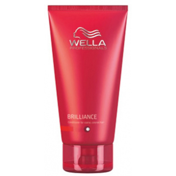 WELLA PROFESSIONALS BRILLIANCE CONDITIONER FOR FINE TO NORMAL, COLOURED HAIR (200ML)