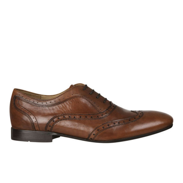 H Shoes by Hudson Men's Francis Brogues - Tan