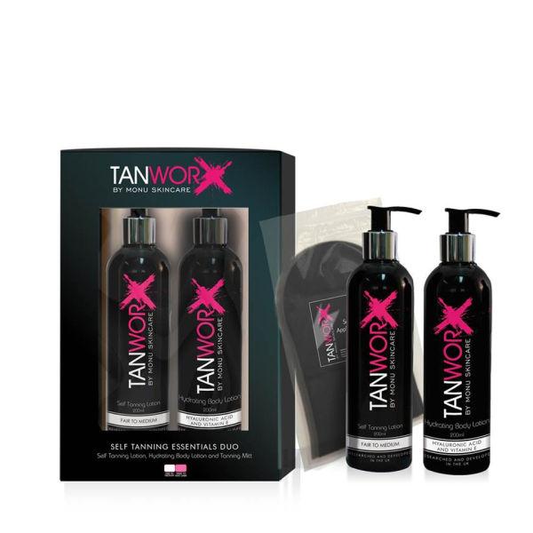 TANWORX Tanning Essentials Duo - Fair/Medium