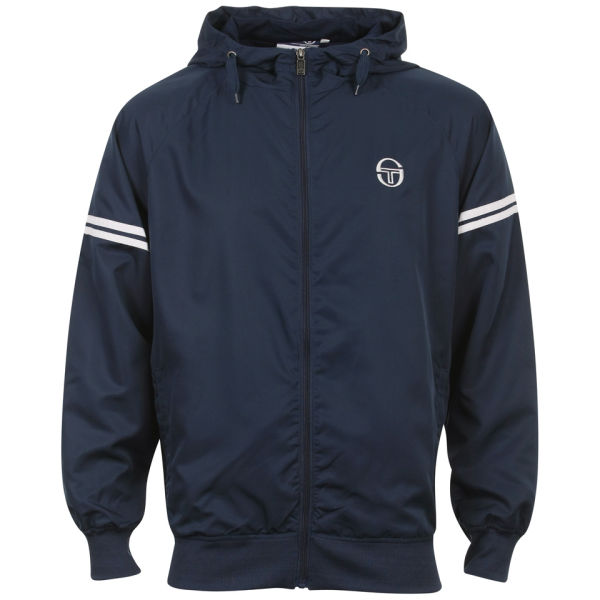 sergio tacchini men 39 s infinity windrunner jacket inkwell. Black Bedroom Furniture Sets. Home Design Ideas