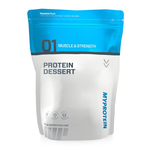 Protein Dessert, Strawberry, 1.5kg Fresa Bolsa 1500 g Oferta en MyProtein