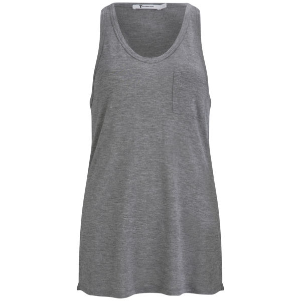 T by Alexander Wang Women's Pocket Tank - Heather
