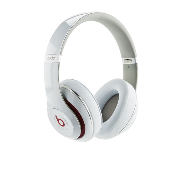 Beats By Dr Dre: Studio 2.0 Noise Cancelling Headphones with RemoteTalk - White: Image 01