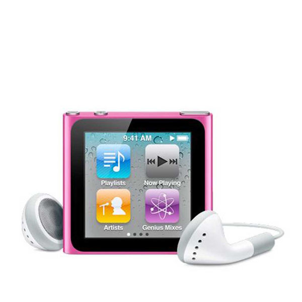 Apple iPod Nano 16GB - Pink 6th Generation Electronics ...