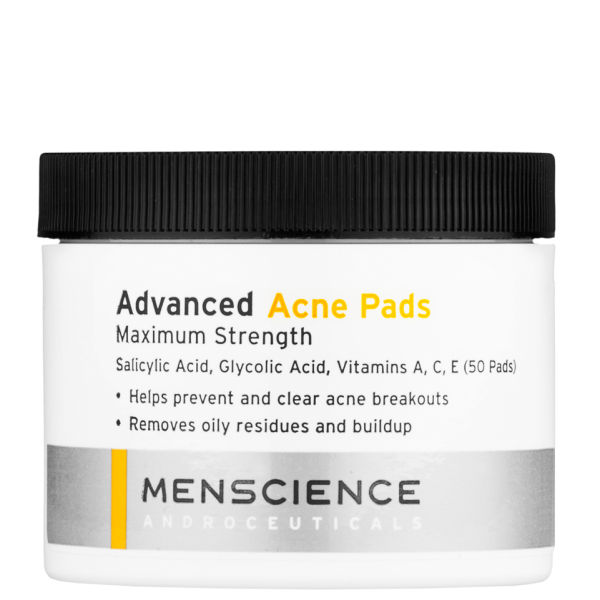 Advanced Acne Pads de Menscience (50 tampons)