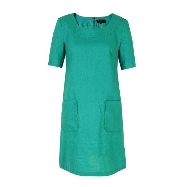Great Plains Women's J1CT9 Linen Tunic Dress - Mosaic