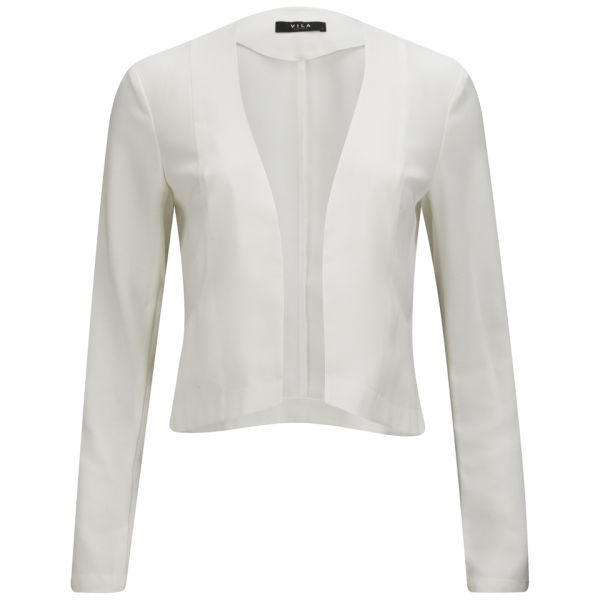 VILA Women's Vimy Blazer - Snow White Womens Clothing | TheHut.com