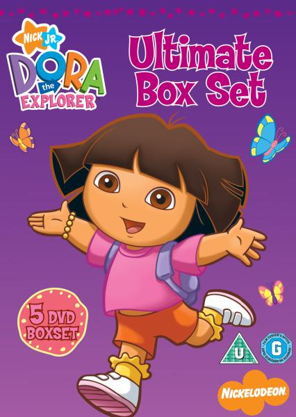 dora the explorer ultimate box set dvd