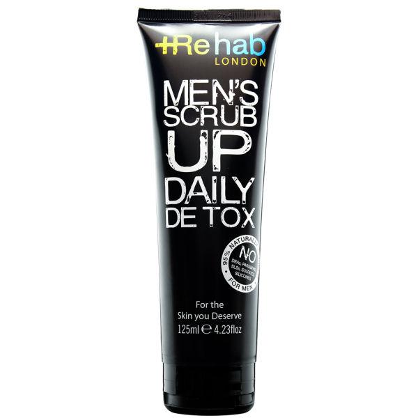 Rehab London Men's Scrub Up Daily Detox (125ml)