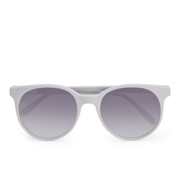Prism Women's London Round Sunglasses - Pale Grey