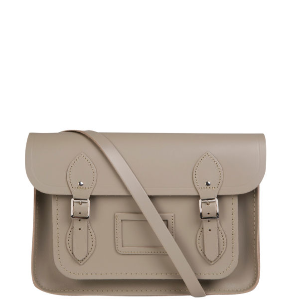 The Cambridge Satchel Company 13 Inch Leather Satchel W/Multi Straps - Dune