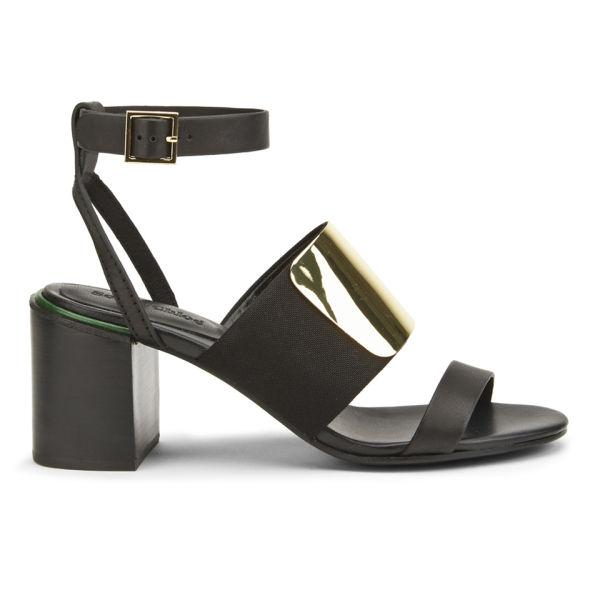 See by Chloe Women's Block Heeled Sandals - Black