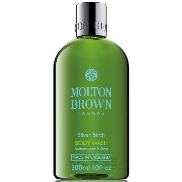Gel de ducha del abedul del plata Molton Brown