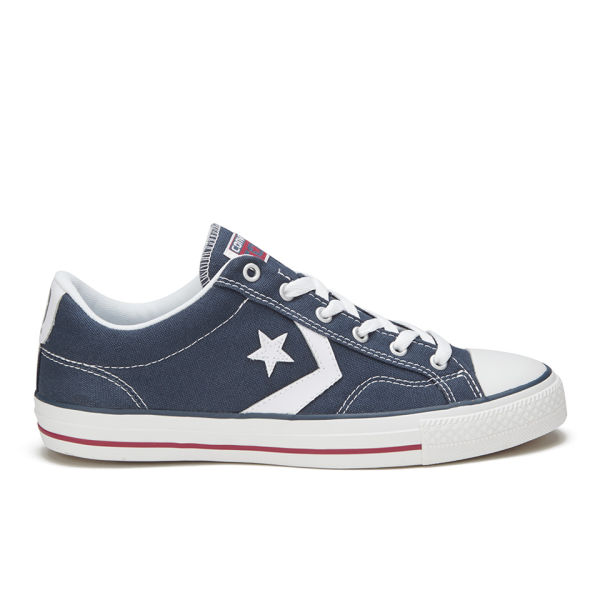 Converse CONS Men's Star Player Canvas Trainers - Navy/White