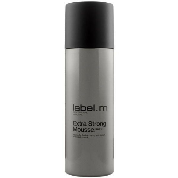 label.m Extra Strong Mousse (200ml)