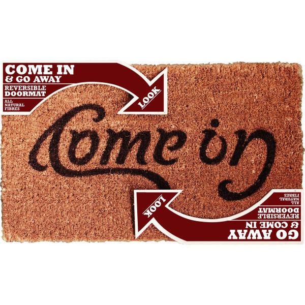 Ambigram Doormat Come In Go Away Homeware