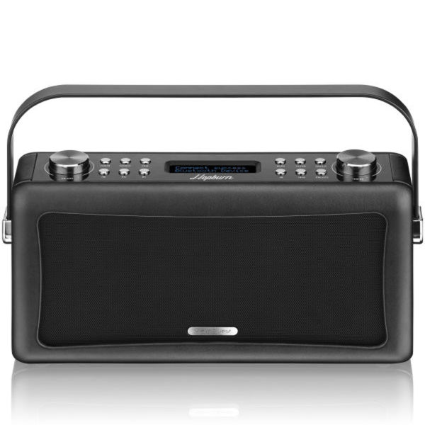 view quest hepburn bluetooth audio system with dab fm radio black iwoot. Black Bedroom Furniture Sets. Home Design Ideas
