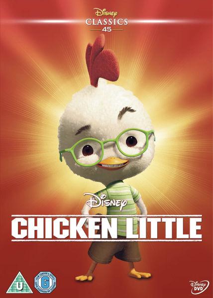 Chicken Little Dvd Zavvi Com