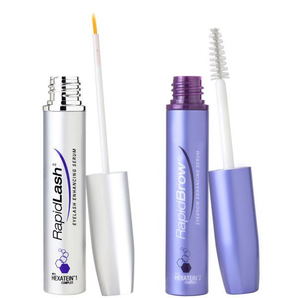 rapidlash rapidbrow eyelash eyebrow enhancing