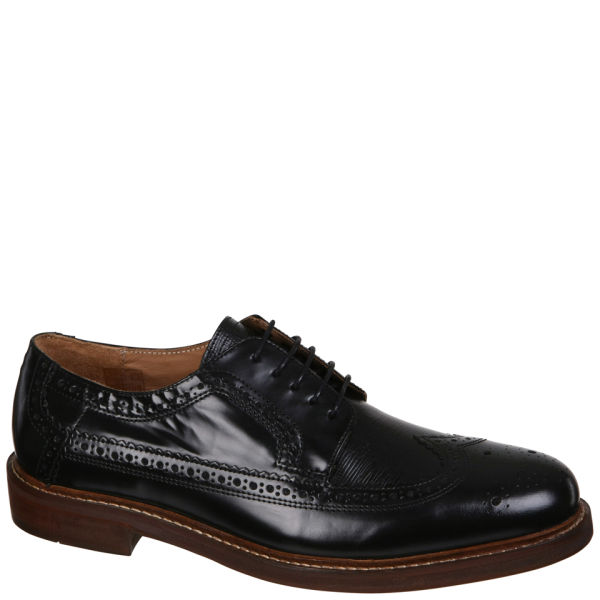 H Shoes by Hudson Men's Callaghan Shoes - Black - FREE UK ...