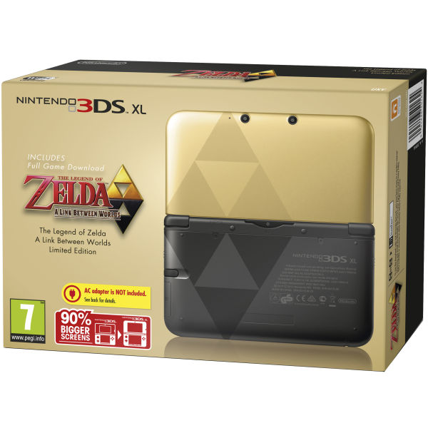 nintendo 3ds xl the legend of zelda a link between worlds. Black Bedroom Furniture Sets. Home Design Ideas